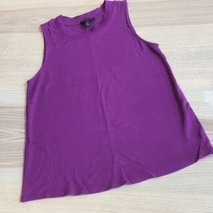 Banana Republic purple tank top